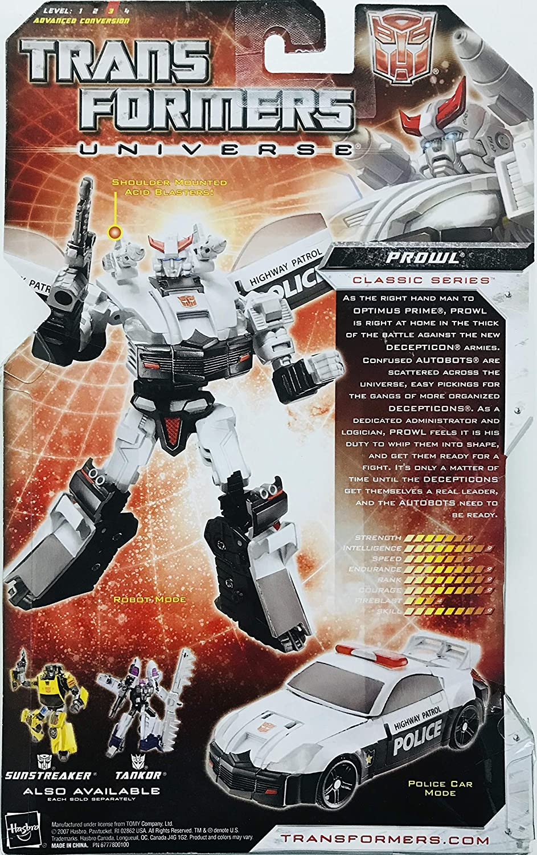 Transformers Universe PROWL Complete Classics Deluxe