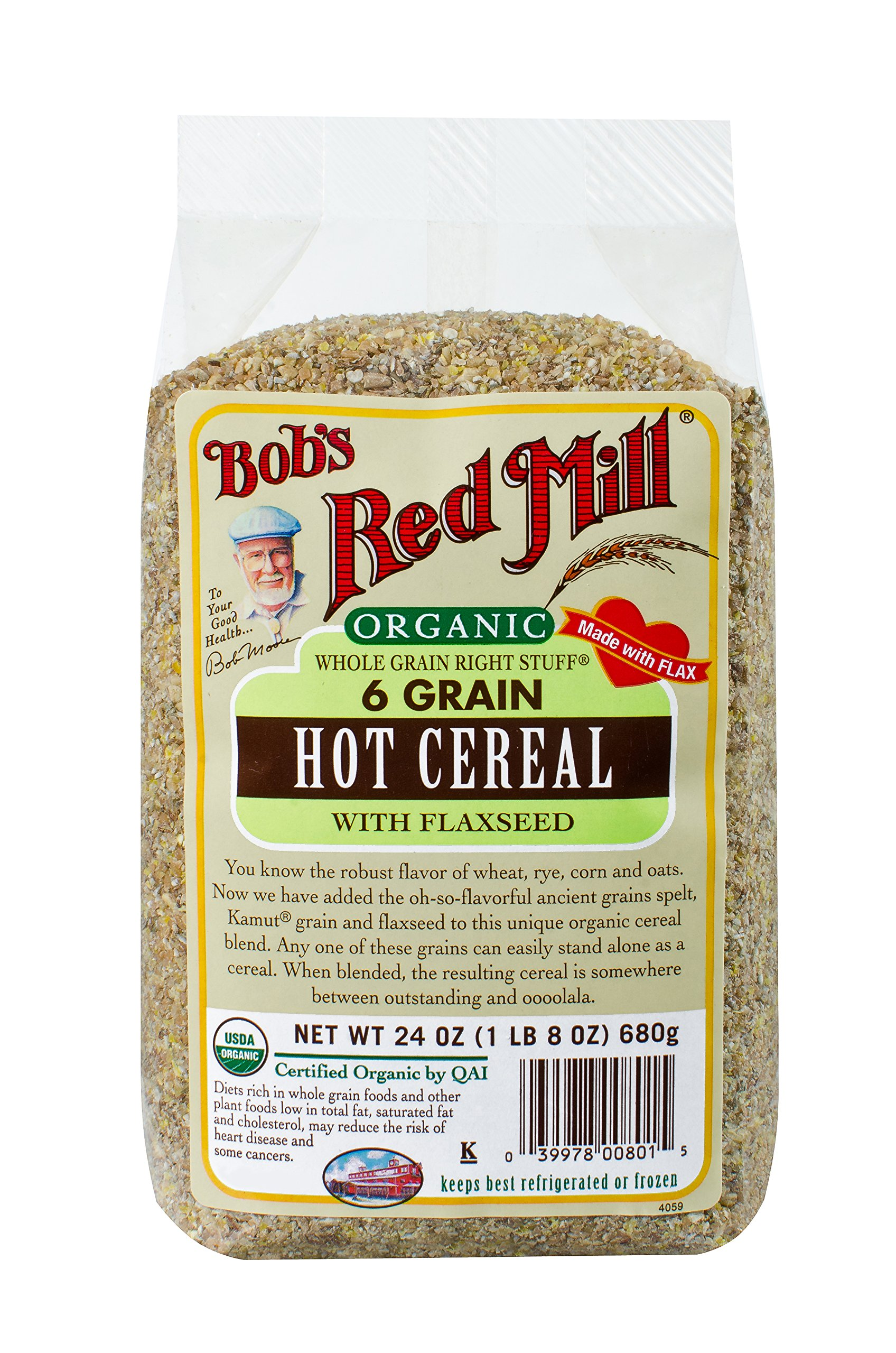 Amazon Bobs Red Mill 7 Grain Cereal 25 Ounce Oatmeal
