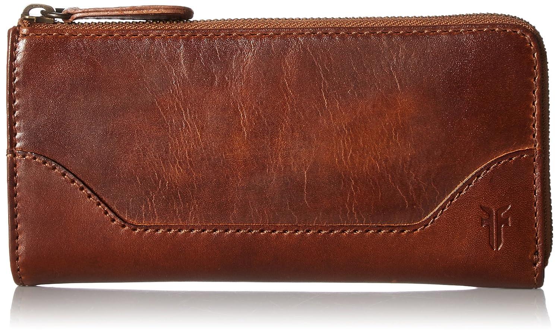 Cognac FRYE Melissa L Zip Wallet