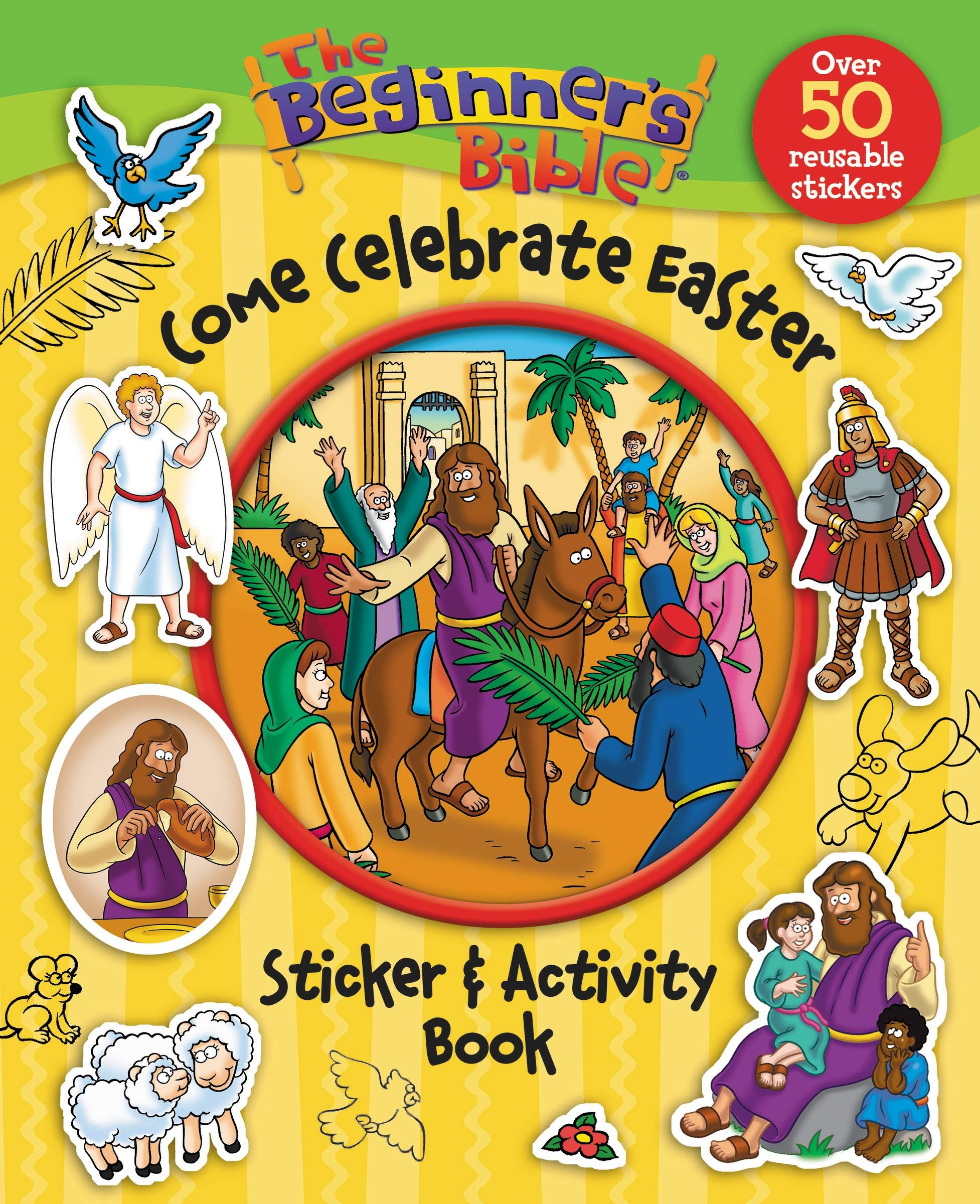 - Amazon.com: The Beginner's Bible Come Celebrate Easter Sticker And