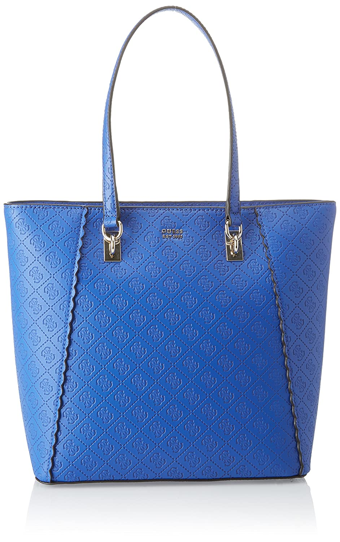 GUESS FELIX BORSA A Spalla Donna Blu Blue 34X28X15 5 Cm