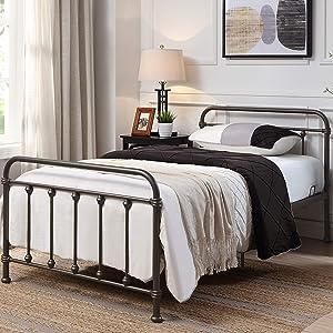 4D Concepts Amelia Twin Bed/Bronze