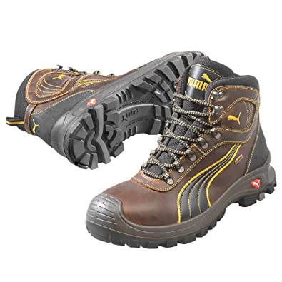 the latest 06e1d 541a9 Puma 630220-402-39  quot Sierra Nevada quot  Safety Shoes, Mid S3