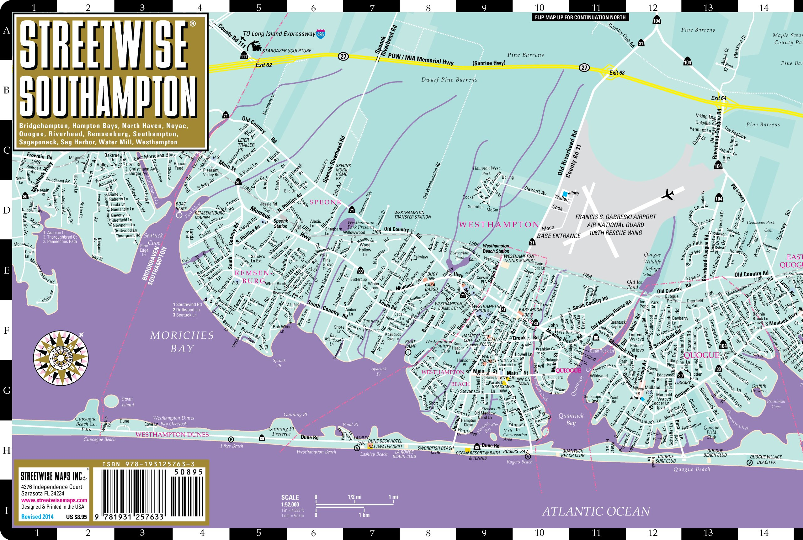Streetwise Southampton Map - Laminated City Street Map of ... on britannia map, parkland map, hudson valley area map, montauk map, oakridge map, fire island, huntington map, long island, woodlands map, sag harbor, jill flint, new york map, brentwood map, harlem map, water mill, sundance map, new rochelle map, east hampton, southampton map, somerset map, langley afb housing map, richmond map, bayview map, soho map, long island map, fire island map,