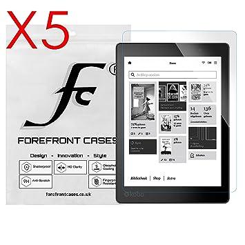 Forefront Cases® 5 x Protector De Pantalla para Kobo Aura One ...