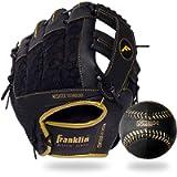 Franklin Sports Teeball Glove and Ball Set - Meshtek Teeball Glove and Foam Baseball - 9.5'