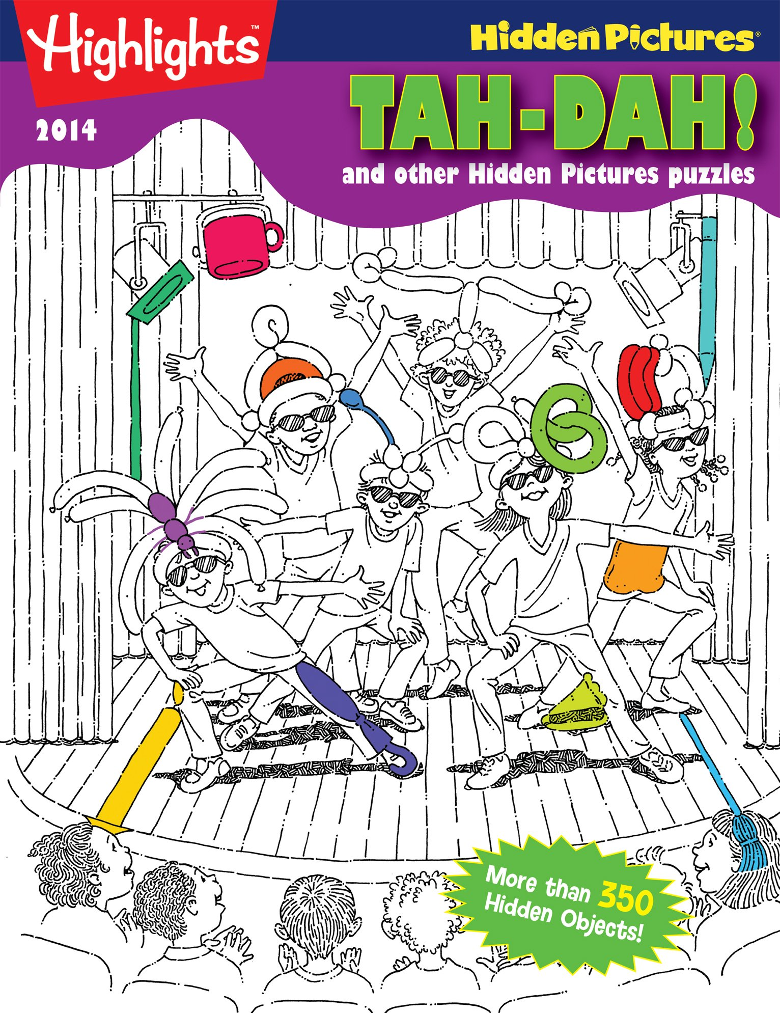 Download Tah-Dah! and other Hidden Pictures® Puzzles: Highlights™ Hidden Pictures® 2014 pdf
