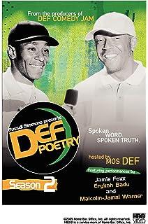 Amazon com: Def Poetry - Season 1: Stan Lathan, Danny Hoch, Russell
