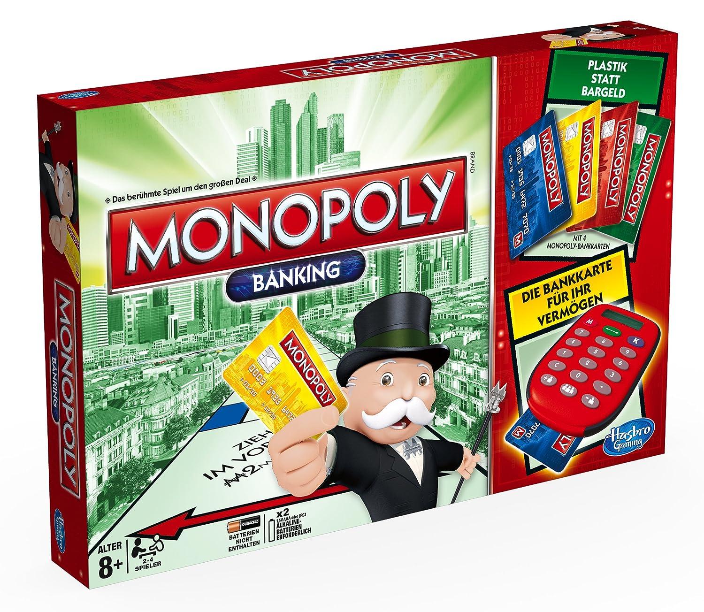 Hasbro Spiele A Monopoly Banking Familienspiel Amazon
