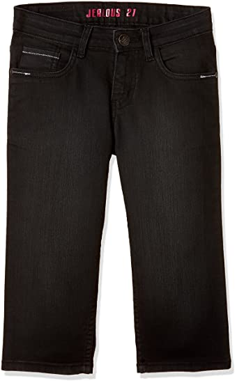 Jealous 21 Women's Cropped Jeans Jeans at amazon