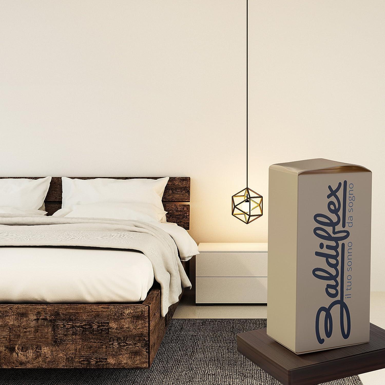 Baldiflex - Colchón ortopédico Easy, 18 cm de altura, de algodón: Amazon.es: Hogar