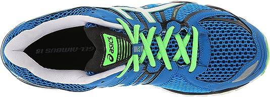 Asics Zapatillas Running Gel Nimbus 15 Azul EU 48 (US 13): Amazon.es: Zapatos y complementos