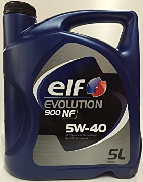 Aceite de Motor Elf Evolution 900 NF 5 W-40, ...
