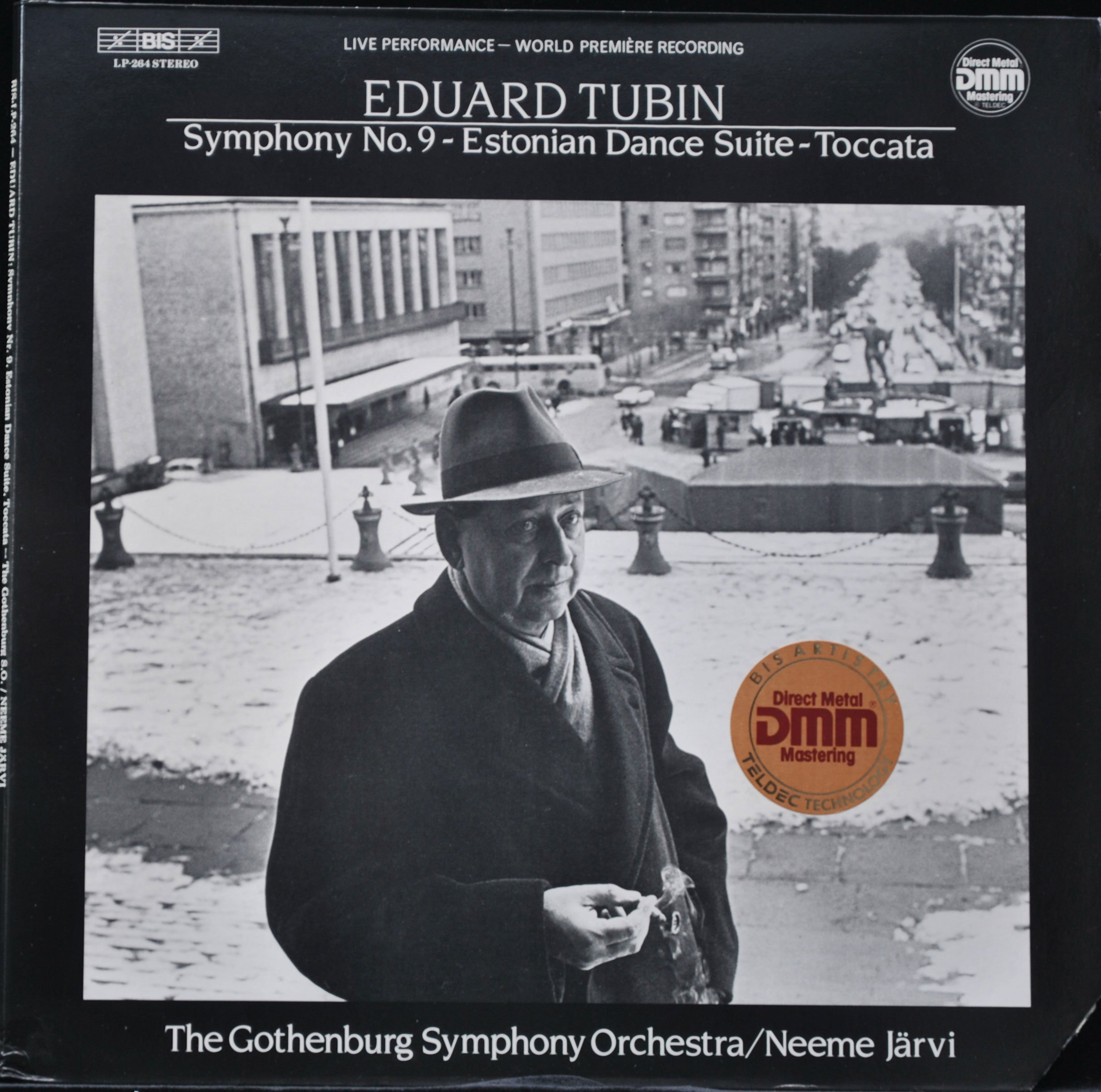 Eduard Tubin: Symphony 9 / Estonian Dance Suite / Toccata / Neeme Jarvi, The Gothenburg Symphony Orchestra by BIS LP-264