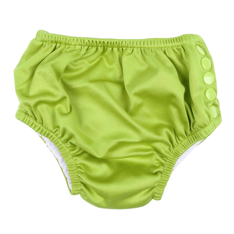 Leveret Baby Boys Girls Snap Reusable Absorbent Swim Diaper UPF 50+ Size 3 Months-3 Toddler