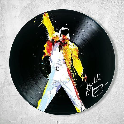 Freddie Mercury Queen Art Wall Print Home Decor Rock Music Live Aid Watercolor