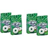 LifeSavers Hard Wint-O-Green, 50-Ounce Bags, 50 ounce, AwfBxA Pack of 4