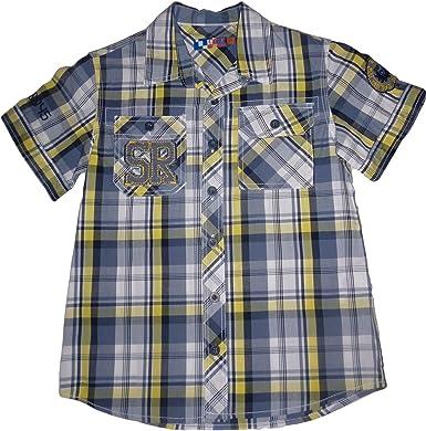 losan - Camisa Manga Corta - para niño 8 años: Amazon.es: Ropa y accesorios