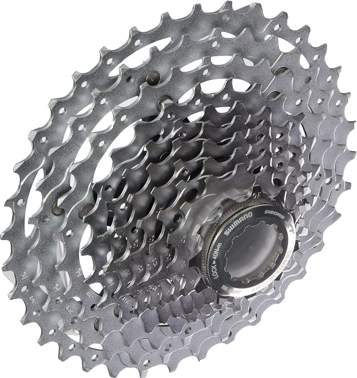 Shimano CS-HG50 10-Speed Bicycle MTB Bike Cassette HG-X Dyna-Sys Sprocket 11-36T