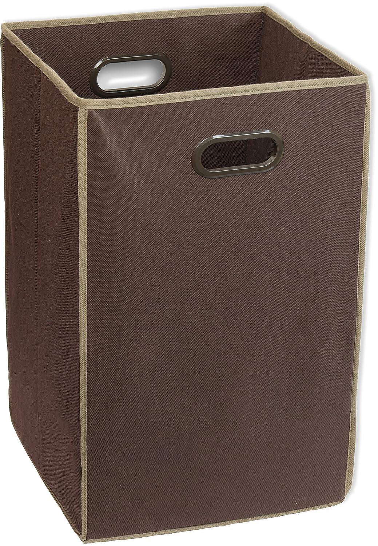 Simple Houseware Foldable Closet Laundry Hamper Basket, Beige BO-029-3