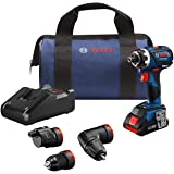 Bosch GSR18V-535FCB15 18V EC Brushless Connected-Ready Flexiclick 5-In-1 Drill/Driver System with (1) CORE18V 4.0 Ah Compact
