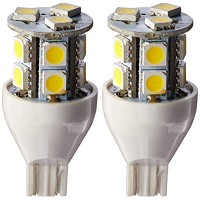 Gold Stars 92111802 LED Replacement Light Bulb 921/T15 Wedge base 120 Lumens 12v or 24v Natural White (1): Automotive