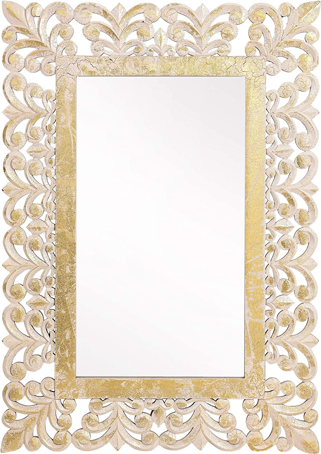 Christopher Knight Home Muriel Mirror, Natural, White