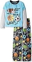 Komar Kids Big Boys' Sports 2 Piece Jersey Sleep Set