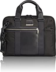 c8bc477b6ac6 TUMI Alpha Bravo Charleston Compact Laptop Brief Briefcase - 14 Inch  Computer Bag for Men and
