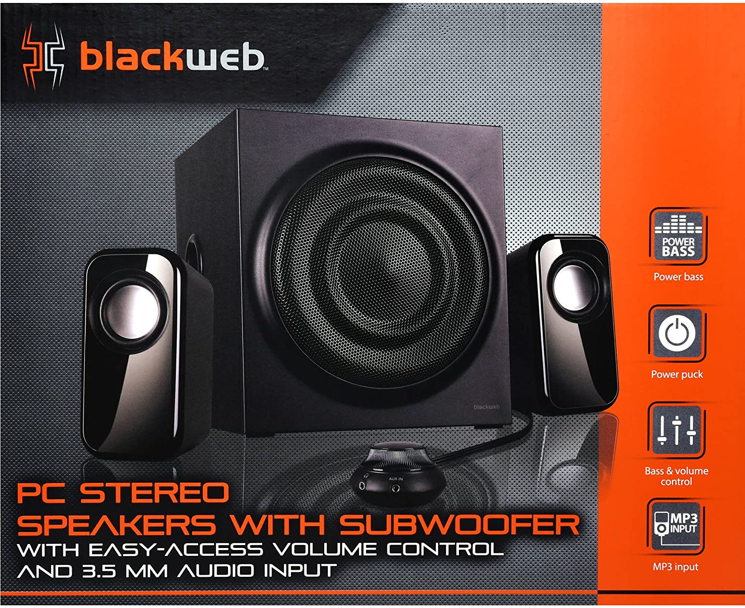 Blackweb BWA8HO8 8.8 Pc Speakers