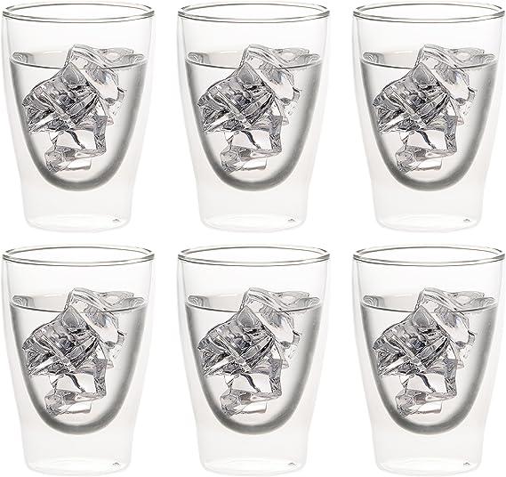 Levivo SET2002000148A Bicchiere da Caff/è o T/è 310 ml Set di 6