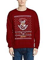 Harry Potter Men's Xmas Crest Sweatshirt