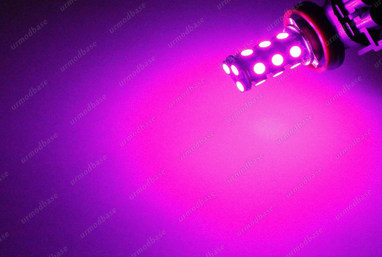 Lampada Xenon Viola : H led rosa viola fari xenon hid proiettore auto lampadine
