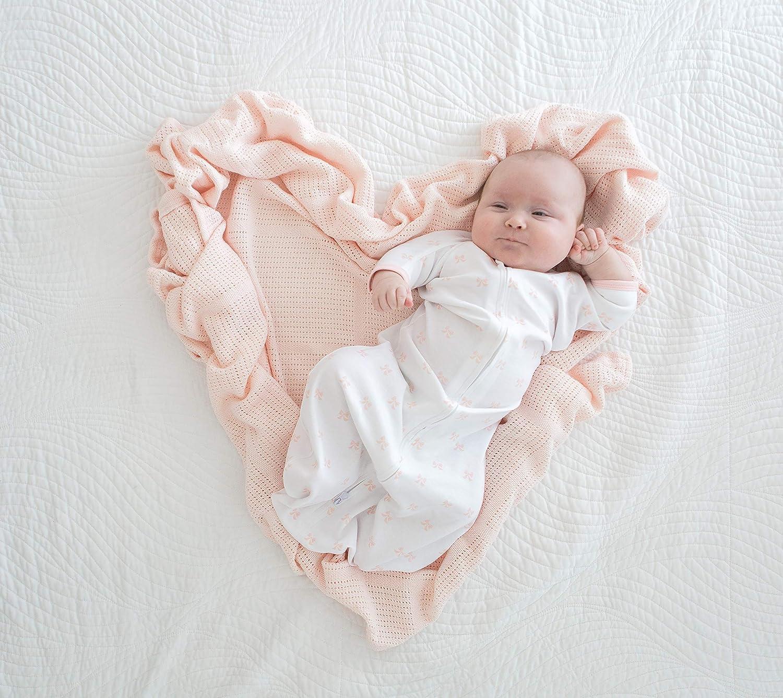 Amazing Baby Cellular Blanket Premium Cotton Sunwashed SeaCrystal
