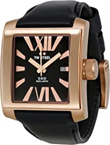 TW STEEL Watch Analog for Men, Leather, CE3010