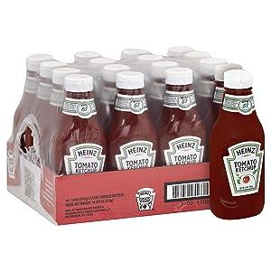 Heinz Ketchup (14 oz Bottles, Pack of 16)