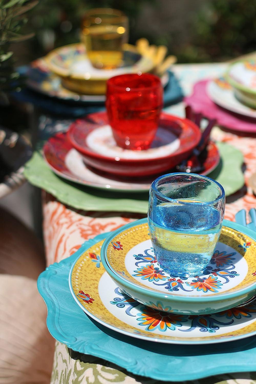 Villa d\'Este Calamoresca 18-piece Dinner Set, Porcelain and ...