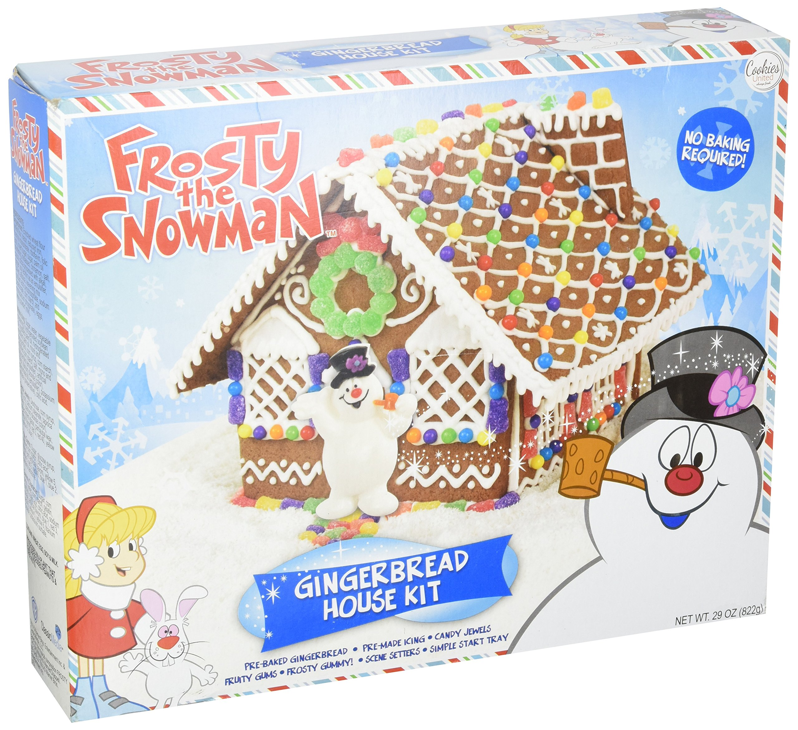 Frosty the Snowman Gingerbread House Kit