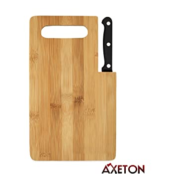 Amazon Com Axeton Eco Bamboo Cutting Board 9 Quot Inches With