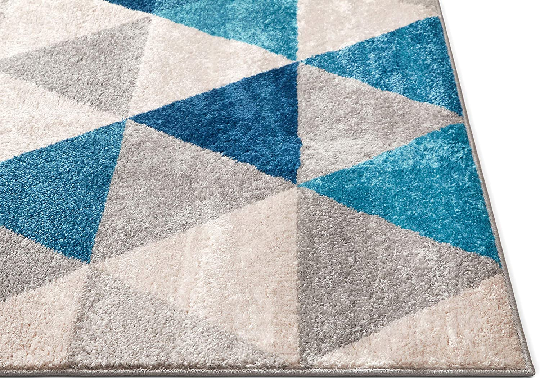 Amazon.com: Tuscany tapete moderno/clásico con ...