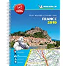 France 2019 -Tourist & Motoring Atlas A4 Laminated Spiral: Tourist & Motoring Atlas A4 spiral (Michelin Road Atlases)