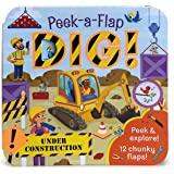 Dig: Peek-a-Flap Board Book