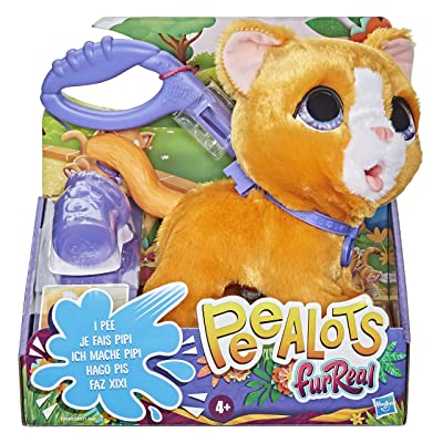 FurReal friends FRR PEEALOTS Big Wags CAT: Toys & Games