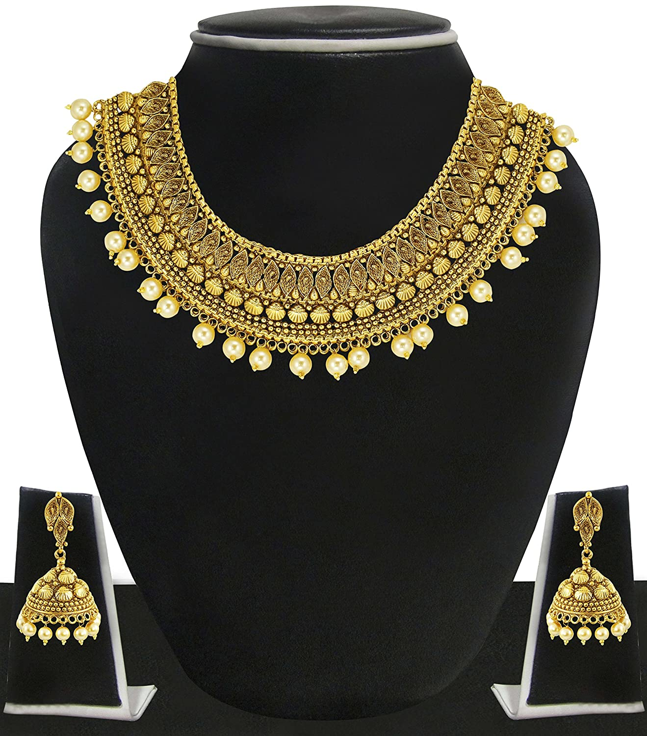 Elegant Pearl and Gold Set | Jewellry\'s Website