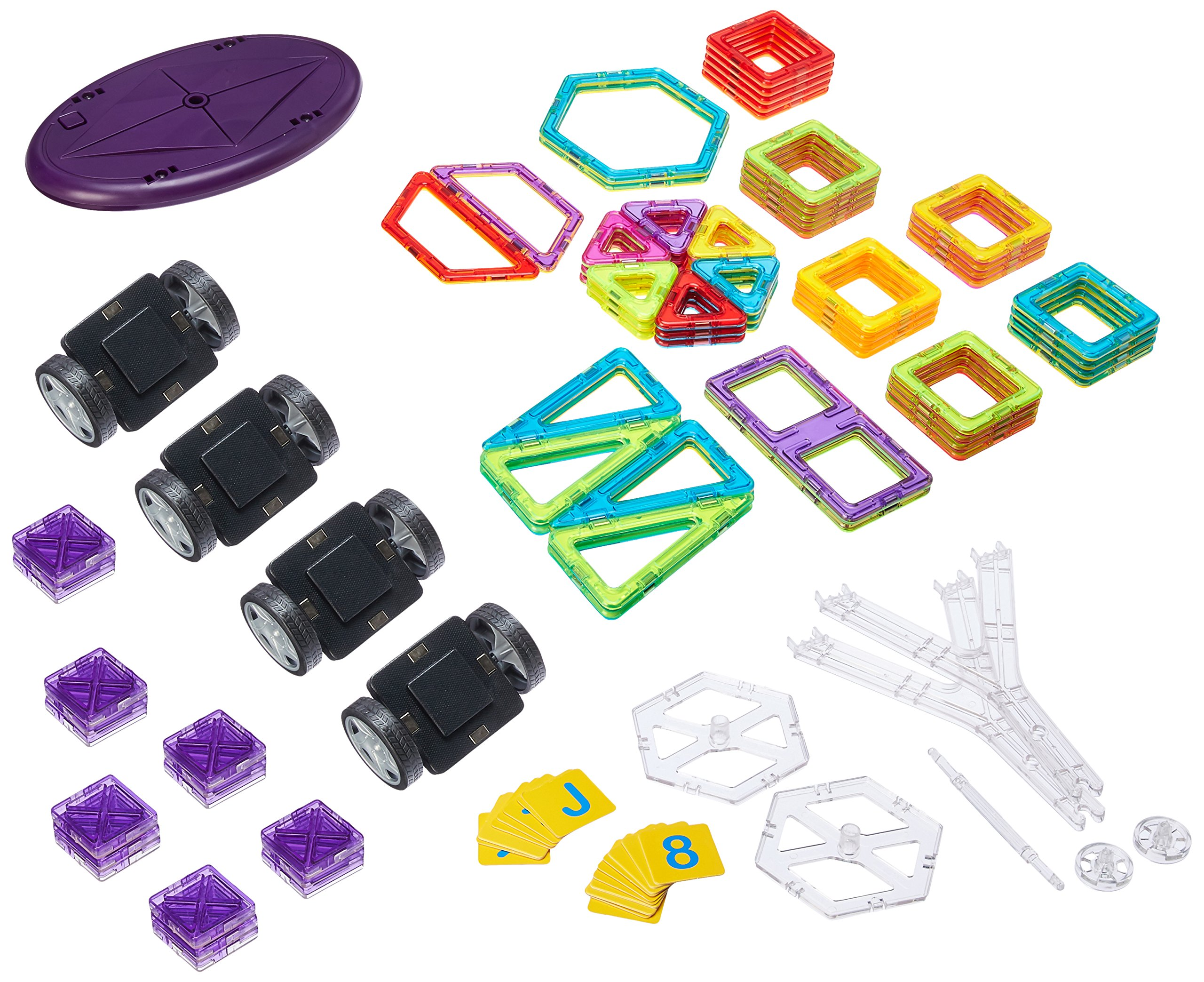 Dimple Magneticals Tile Set for Kids (88-Piece Set)