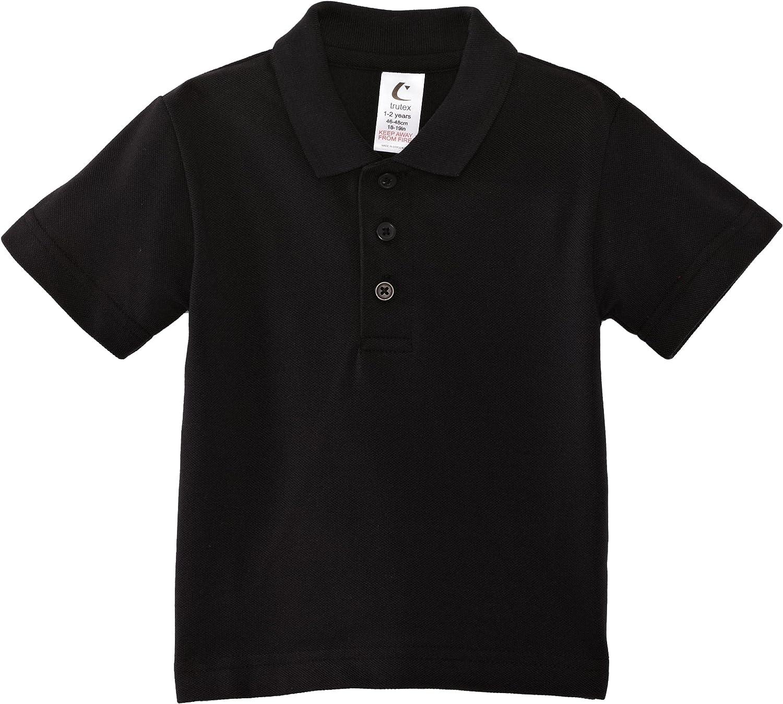 Trutex - Polo con cuello de polo de manga corta para niña, talla ...