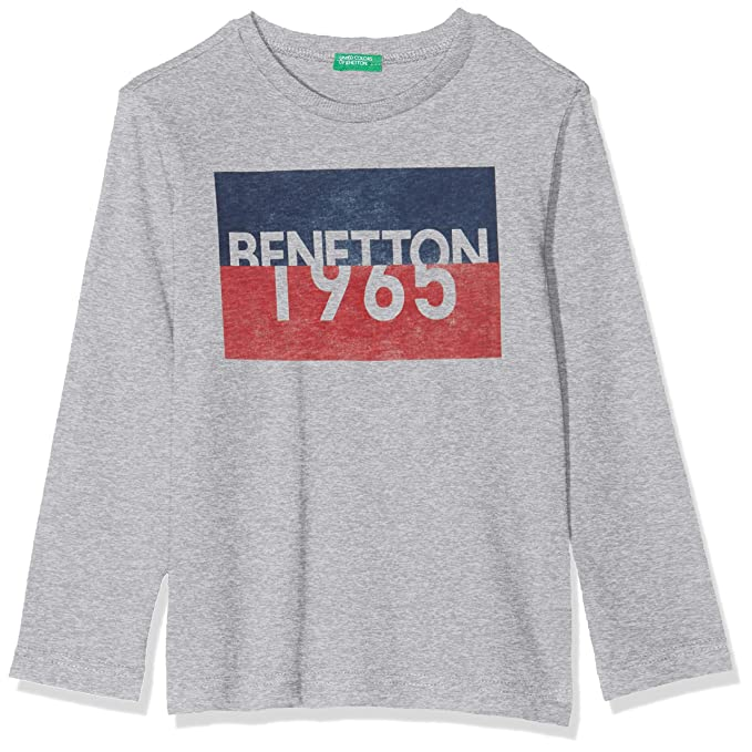 United Colors of Benetton Camiseta de Manga Larga para Beb/és