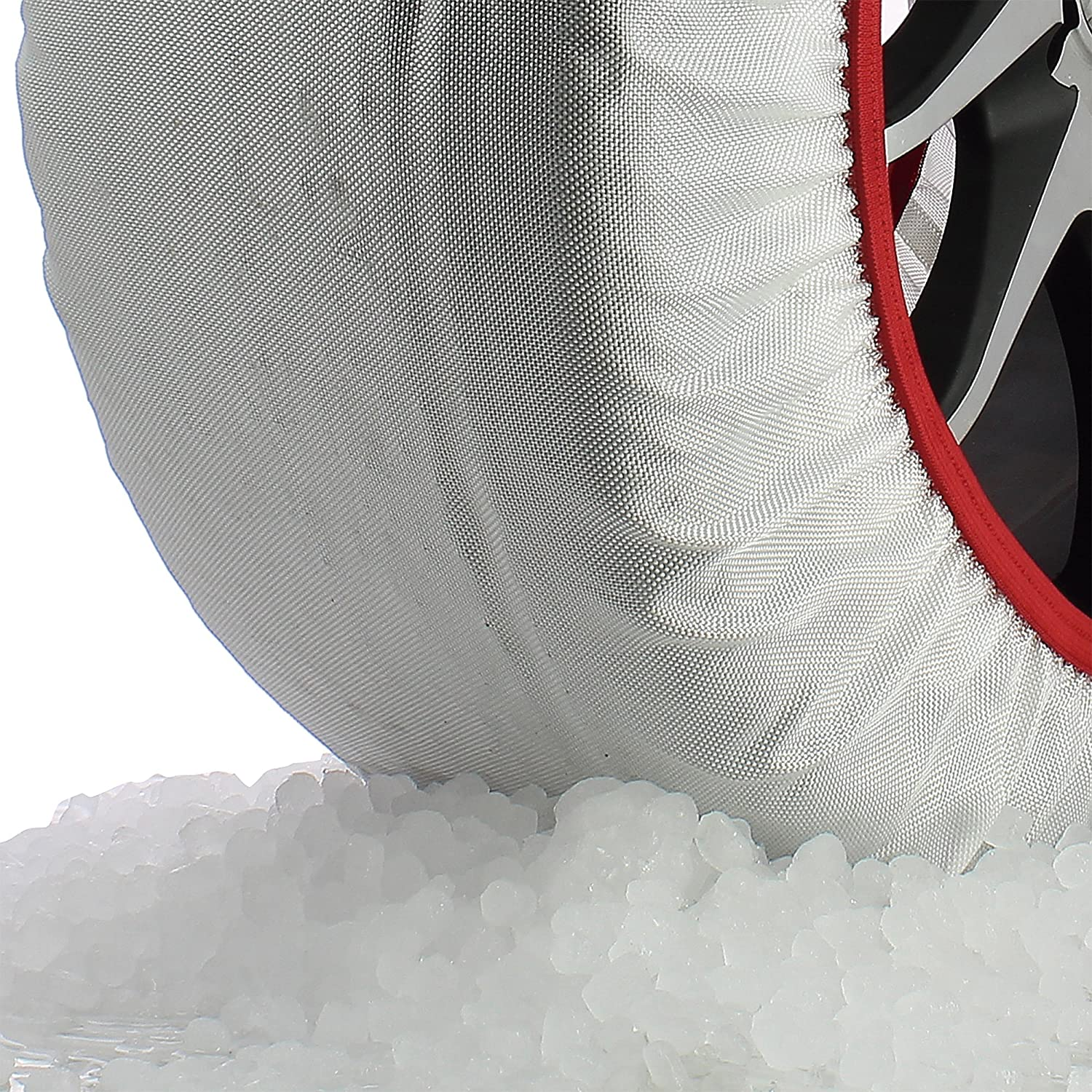 Frost /& Snow Chain Socks for 19 Tyres Husky Sumex Textile Winter Car Wheel Ice 255//35 R19