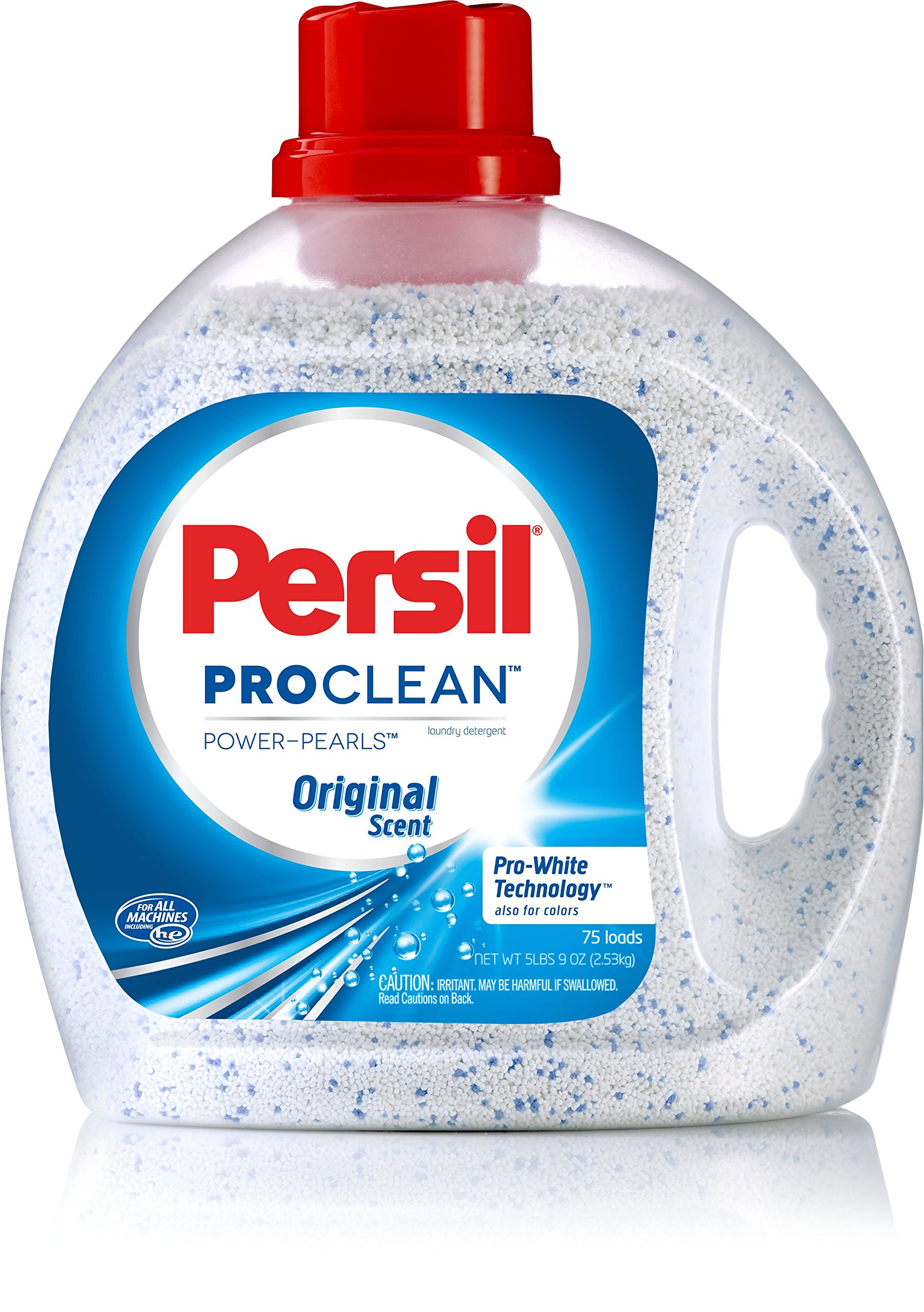 Persil ProClean Power Pearls-Powder Laundry Detergent, Original Scent, 94 Ounces, 75 Loads