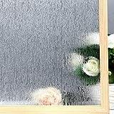 "VELIMAX Static Cling Rain Glass Window Film Removable Rain Decorative Window Film Privacy Anti-UV Heat Control (17.7""x…"